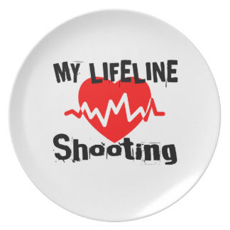 My Life Line Shooting Sports Designs Plate