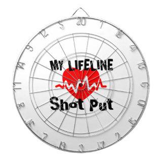 My Life Line Shot Put Sports Designs Dartboard