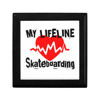 My Life Line Skateboarding Sports Designs Gift Box