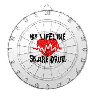 MY LIFE LINE SNARE DRUM MUSIC DESIGNS DARTBOARD