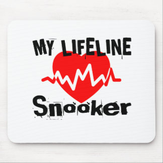 My Life Line Snooker Sports Designs Mouse Pad