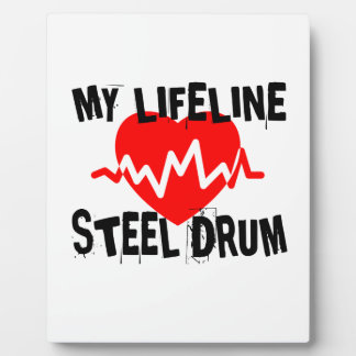 MY LIFE LINE STEEL DRUM MUSIC DESIGNS PLAQUE