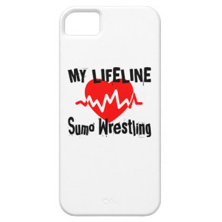 My Life Line Sumo Wrestling Sports Designs iPhone 5 Cases