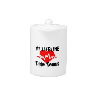 My Life Line Table Tennis Sports Designs