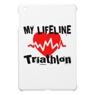 My Life Line Triathlon Sports Designs Cover For The iPad Mini
