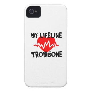 MY LIFE LINE TROMBONE MUSIC DESIGNS iPhone 4 CASES