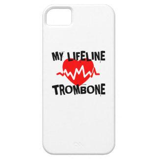 MY LIFE LINE TROMBONE MUSIC DESIGNS iPhone 5 COVER