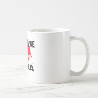 MY LIFE LINE TUBA MUSIC DESIGNS COFFEE MUG