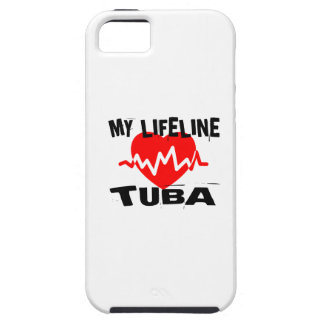 MY LIFE LINE TUBA MUSIC DESIGNS iPhone 5 COVER