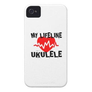 MY LIFE LINE UKULELE MUSIC DESIGNS Case-Mate iPhone 4 CASE