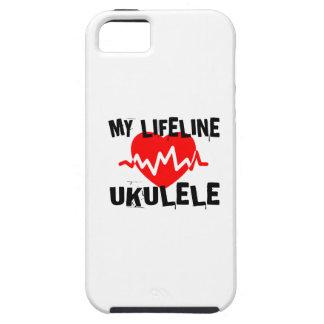 MY LIFE LINE UKULELE MUSIC DESIGNS iPhone 5 CASES