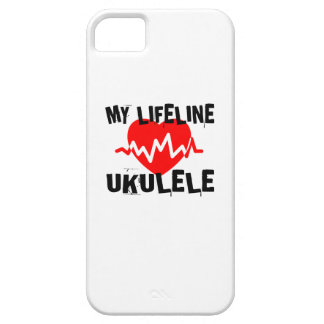 MY LIFE LINE UKULELE MUSIC DESIGNS iPhone 5 COVER