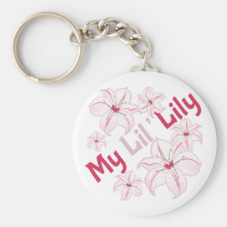 My Lil Lily Key Ring