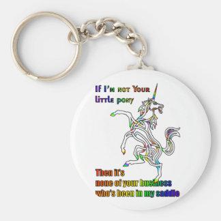 My Li'l Unicorn Keychain