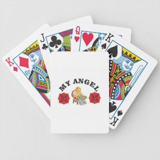 my little angel bicycle playing cards