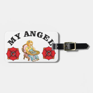 my little angel luggage tag