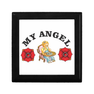 my little angel small square gift box