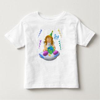 My Little Angel Third Birthday Toddler T-Shirt