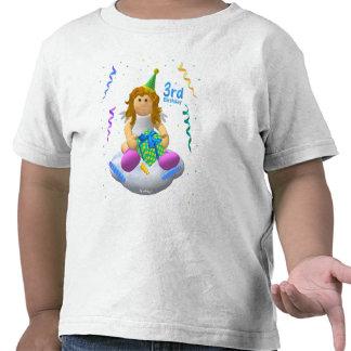 My Little Angel Third Birthday T Shirt