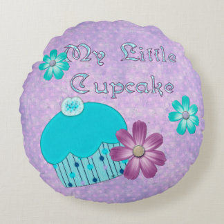 My Little Cupcake GIRLS Round Cushion