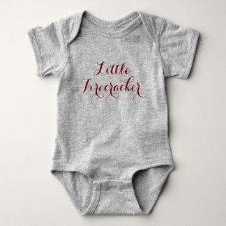 My Little Firecracker Baby Bodysuit