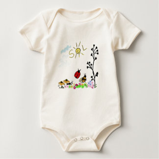 My little garden baby bodysuit