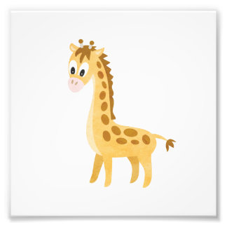 My Little Giraffe Photo Print