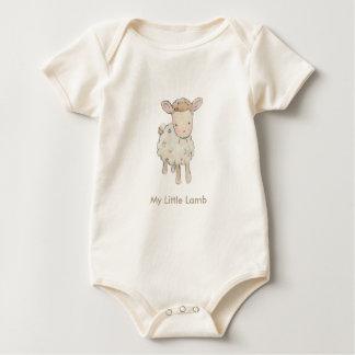 My Little Lamb Baby Bodysuit
