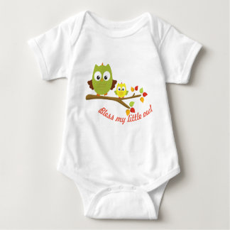 My Little Owl Collection Baby Bodysuit