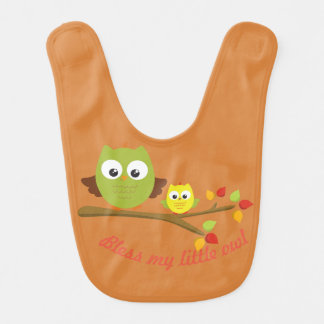 My Little Owl Collection Bib