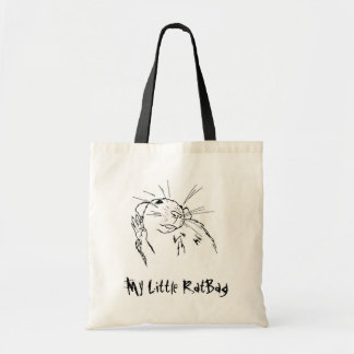 My Little RatBag Tote Bag