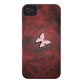 My Little Red Butterfly Case-Mate iPhone 4 Case