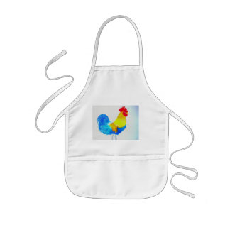 My little Rooster Kids Apron
