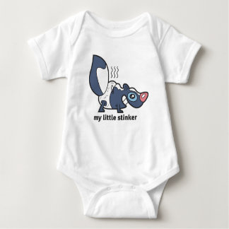 My Little Stinker Baby Bodysuit