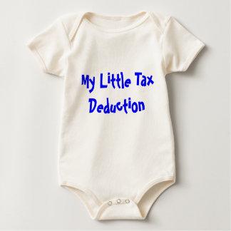 """My Little Tax Deduction"" Infant Organic Creeper"