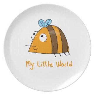 My Little World: Bee Plate