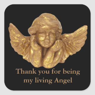 My Living Angel Thank You sticker