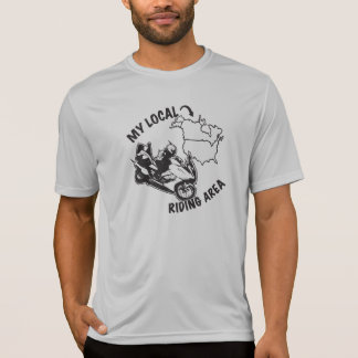 My Local Riding Area - State Checkoff List T-Shirt