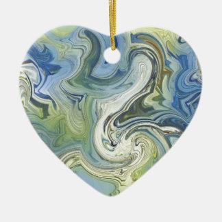 My Love Always Ceramic Ornament