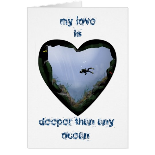 my love is deeper card