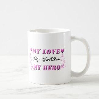 My Love My Soldier My Hero Coffee Cup Mugs