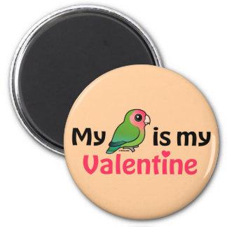 My Lovebird Is My Valentine Magnet