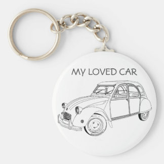 My loved to car: Citroën 2 CB Key Ring