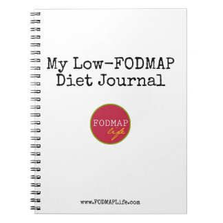 My Low-FODMAP Diet Journal Note Books