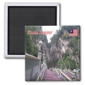 MY - Malaysia - Kuala Lumpur - Batu Caves Magnet