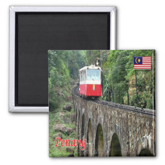 MY - Malaysia - Penang - Hill Funicular Railway Magnet