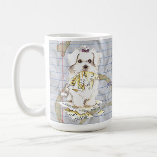 My Maltese Ate my Lesson Plan Coffee Mug