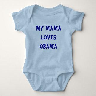 My Mama Loves Obama Baby Bodysuit