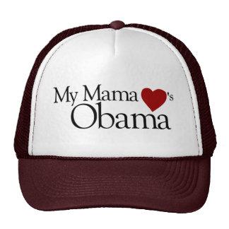 My Mama Loves Obama Cap