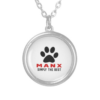 My Manx Simply The Best Round Pendant Necklace
